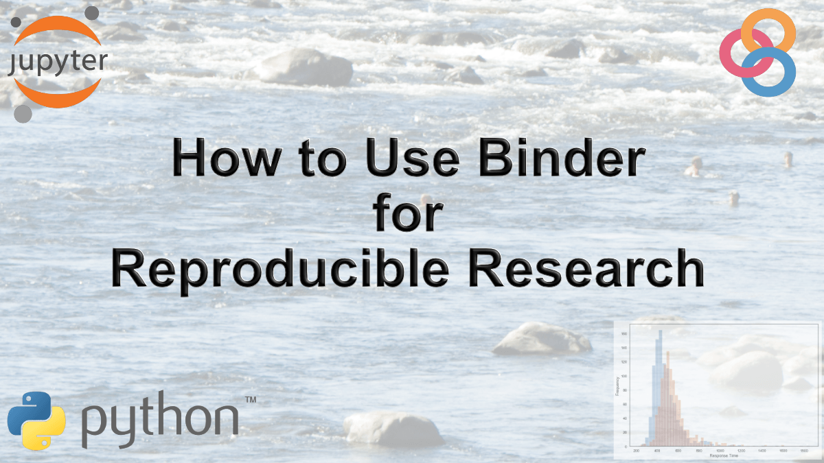 How to Use Binder and Python for Reproducible Research