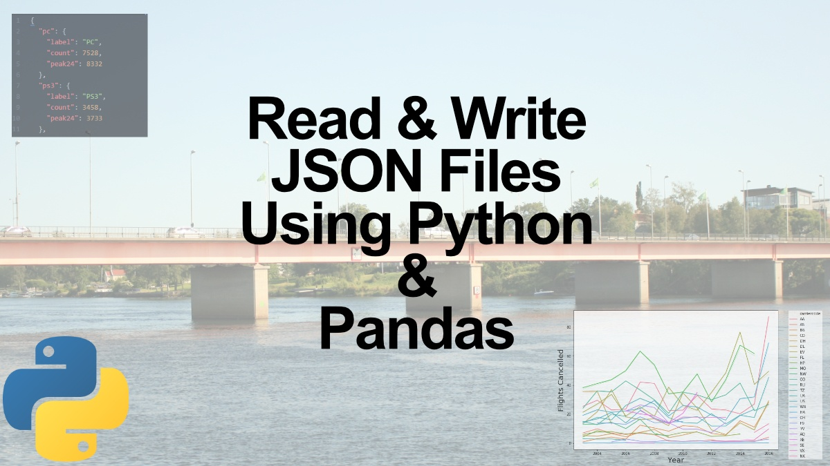 How to Read and Write JSON Files using Python and Pandas