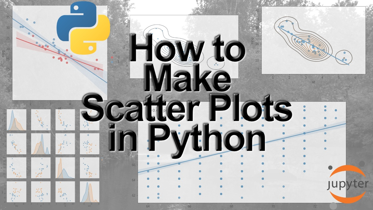 How to Make a Scatter Plot in Python using Seaborn