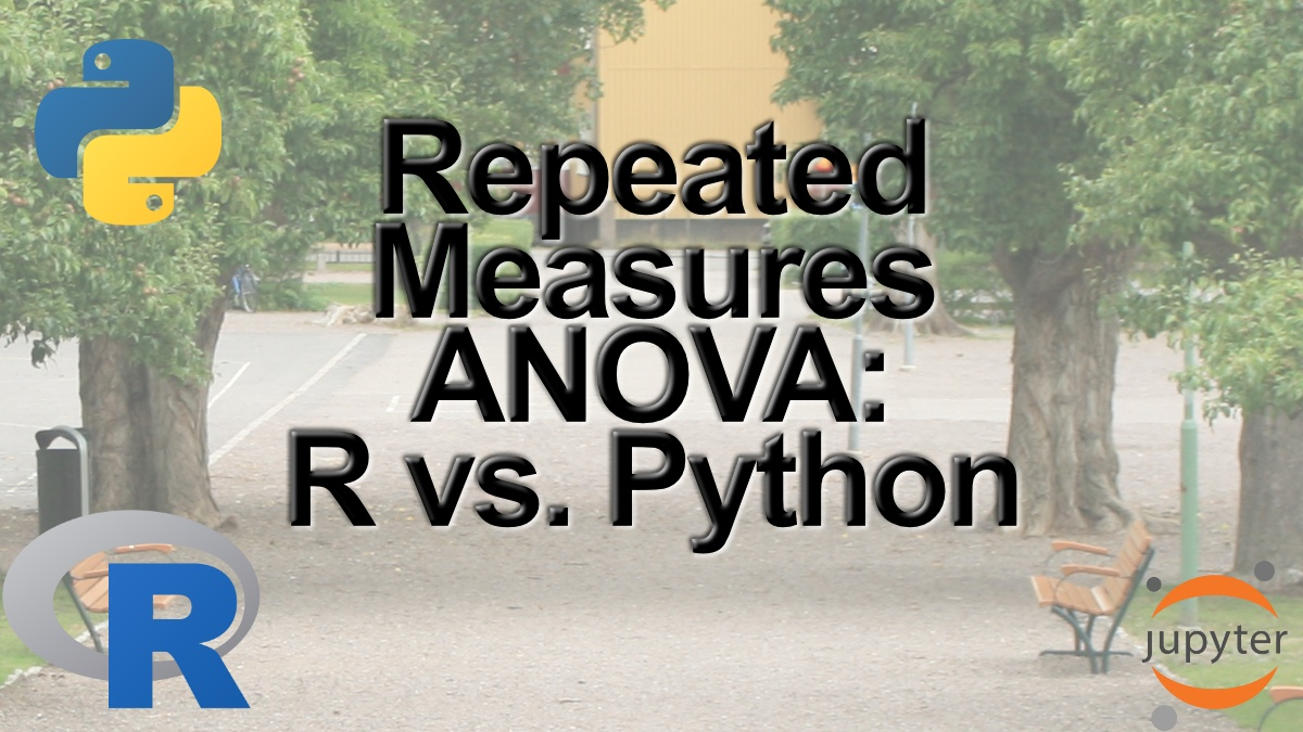 Repeated Measures ANOVA in R and Python using afex & pingouin