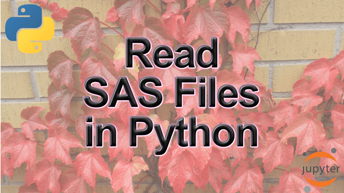 How to Read SAS Files in Python with Pandas