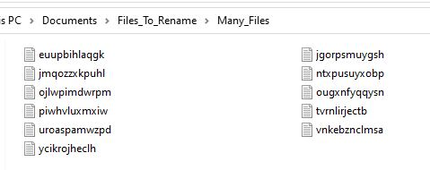 renaming multiple files in python