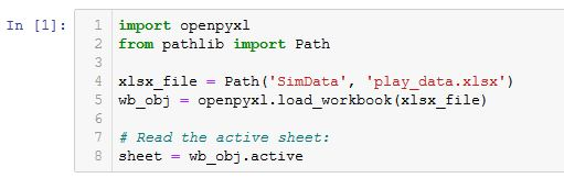 how to read xlsx files in python