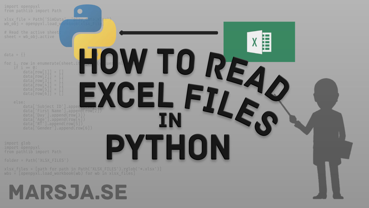 reading xlsx files in python