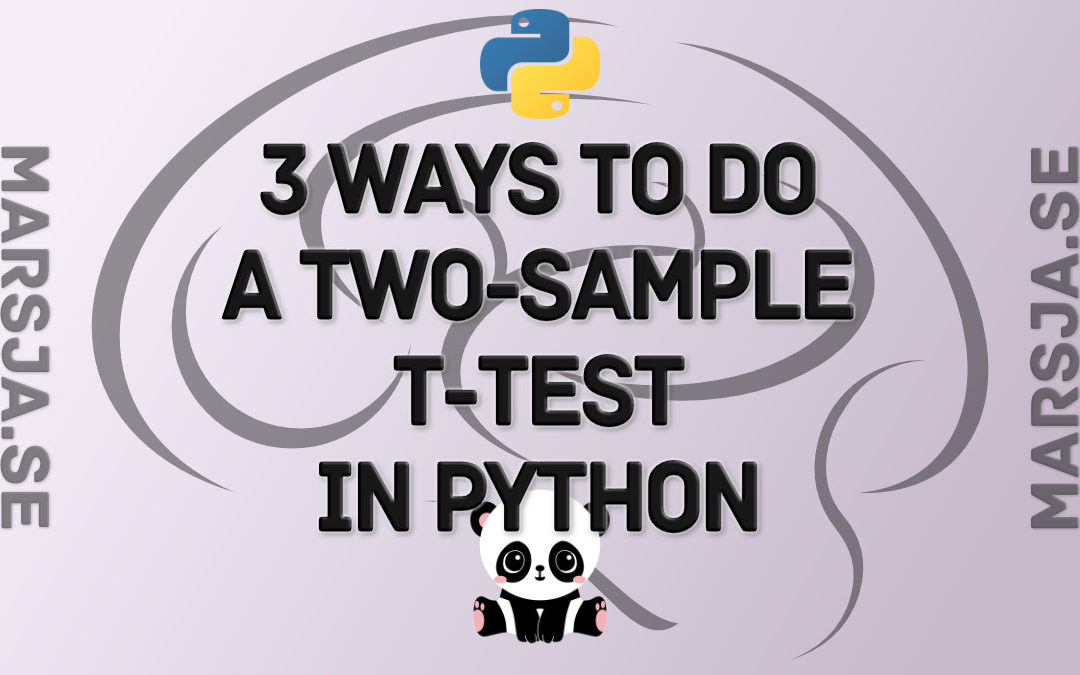 How to Perform a Two-Sample T-test with Python: 3 Different Methods