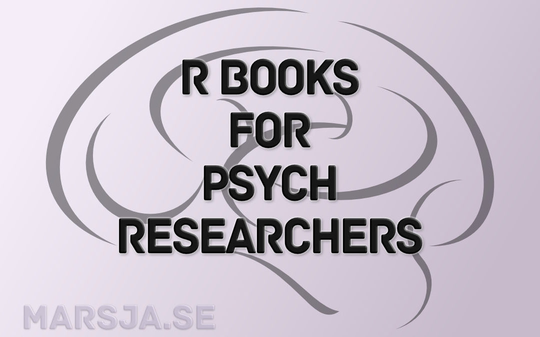 R books for Psychologists