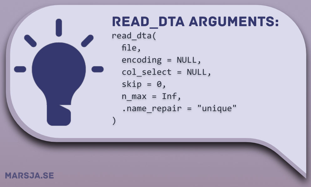 read dta in r with Haven