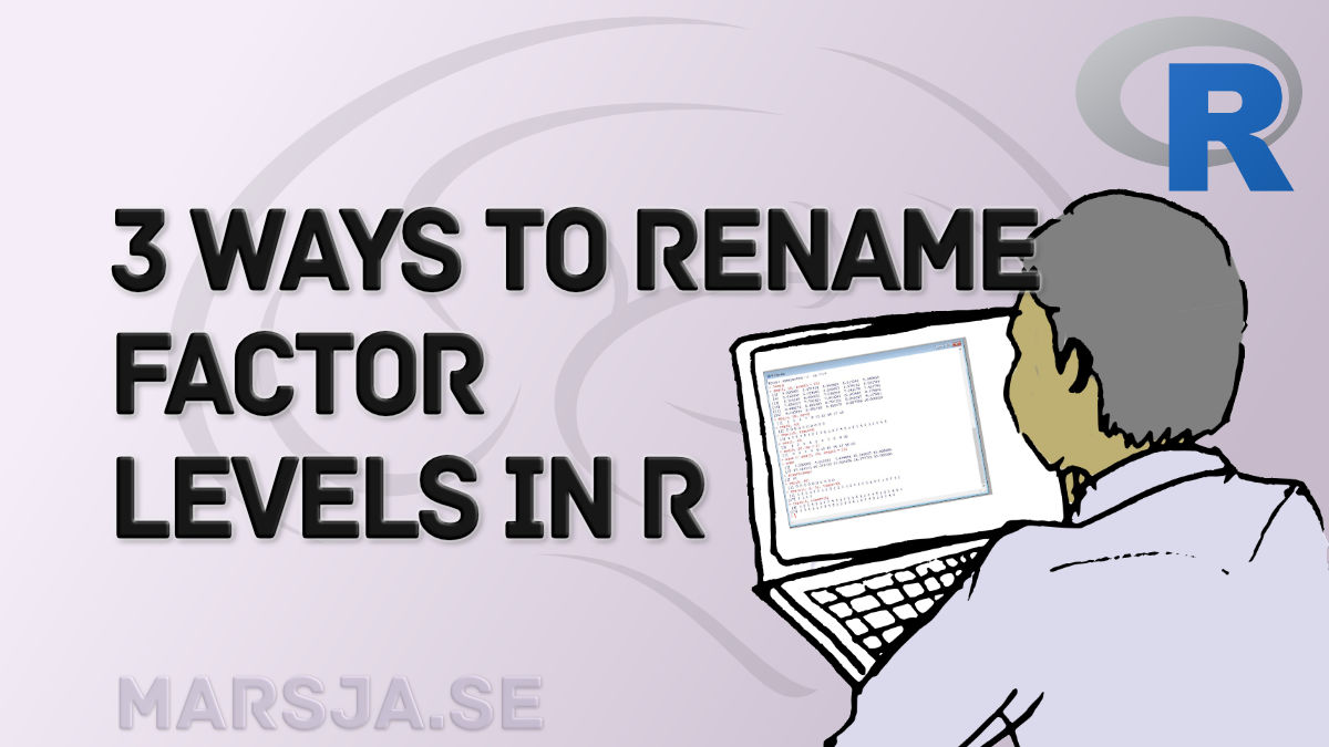 recoding factor levels in R