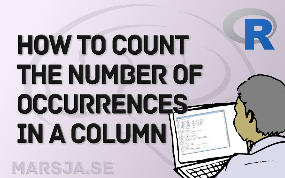 R Count the Number of Occurrences in a Column using dplyr